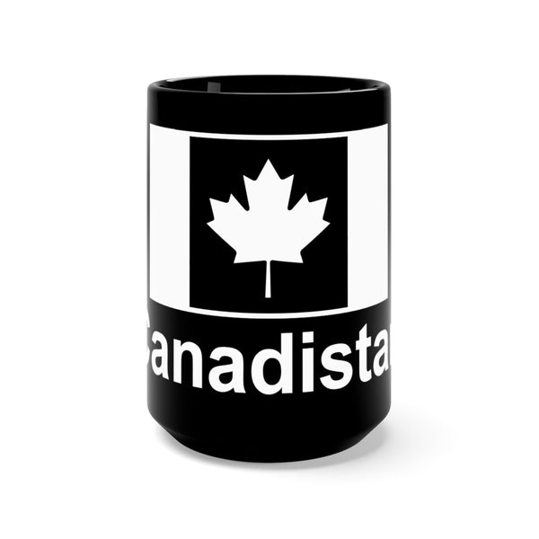 Canadistan Black Mug 15oz