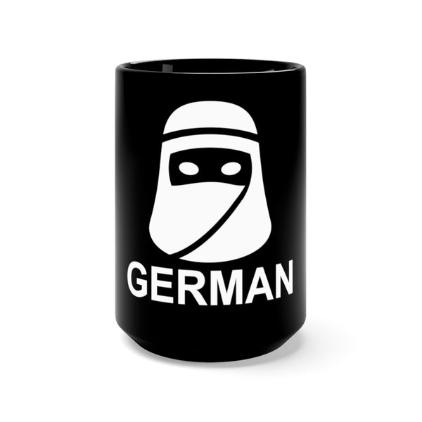 German Black Mug 15oz