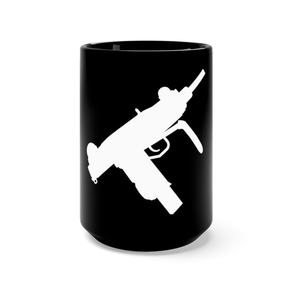 Not An AR-15 - UZI Black Mug 15oz