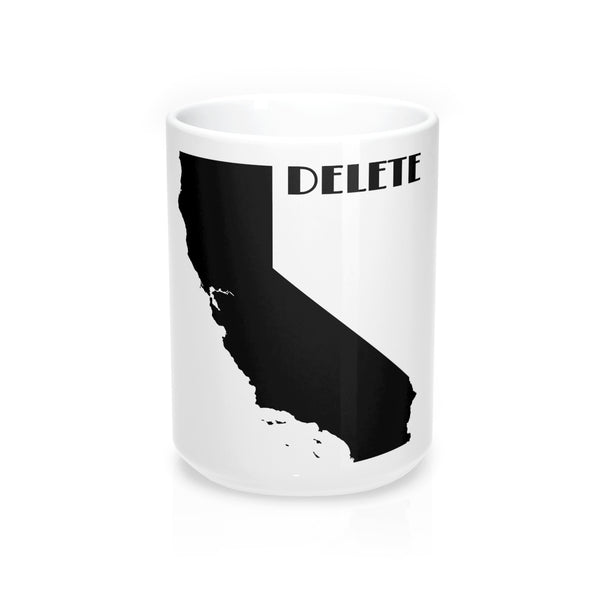 Delete California Art Deco Mug 15oz