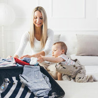 A Printable Packing List for Traveling with Baby