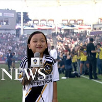 7-Year-Old National Anthem Singer May Be the Best Ever