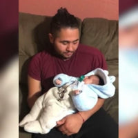 Baby Survives Violent Crash in Car Seat