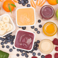 Homemade Baby Food Recipes for Stages 1-3