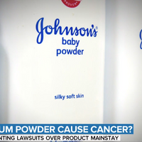 Johnson & Johnson Talc Baby Powder Cancer Scare