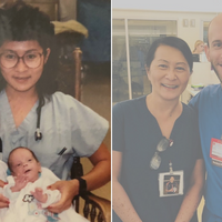 NICU Nurse Now Works With Former Patient