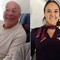 Dad Takes Six Flights To Be With Daughter on Christmas