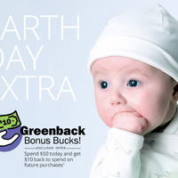 Earth Day Sale: Save $10!