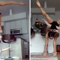 Adorable Mom & Baby Acro Yoga