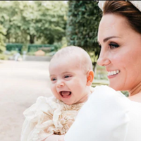 Prince Louis' Christening Photo Smile Steals Our Hearts