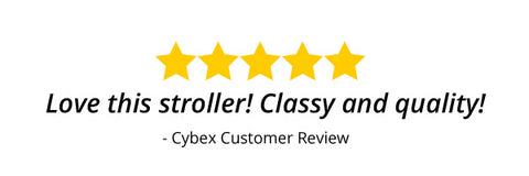 5-Star Customer Review from Cybex