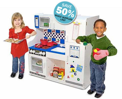 Melissa & Doug Deluxe Kitchen on Sale