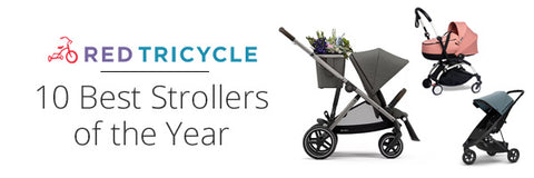 Cybex Gazelle S Stroller in Red Tricycle