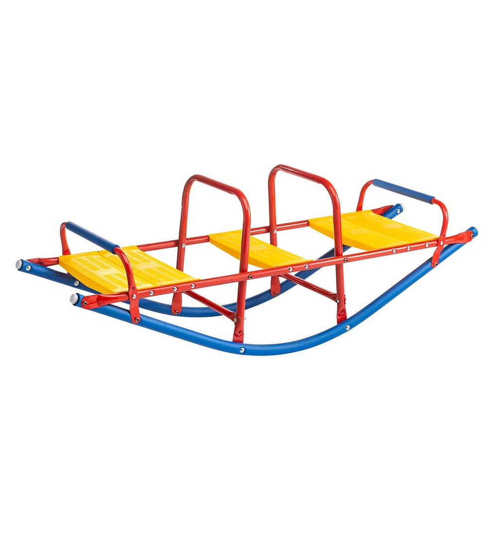 Kids Rocking Seesaw made of Durable Weather-Resistant Metal