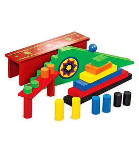 Domino Race Add-On Set, 24 pieces
