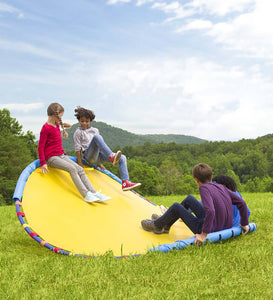 WonderWave: An 8' x 8' Structure for Kids Outdoor Play