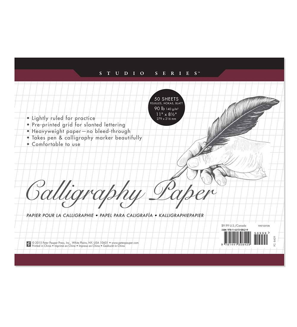 Crafty Calligraphy Paper