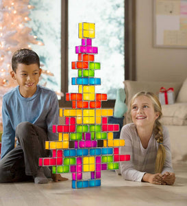 28-Piece Light-Up Blocks Set