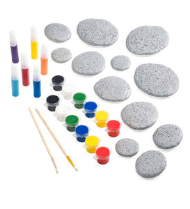 Color Pops® Paint-Your-Own Rock Mandalas