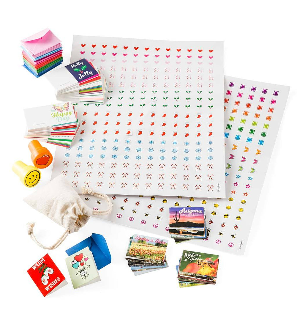 Itsy Bitsy Postcard and Letter Kit