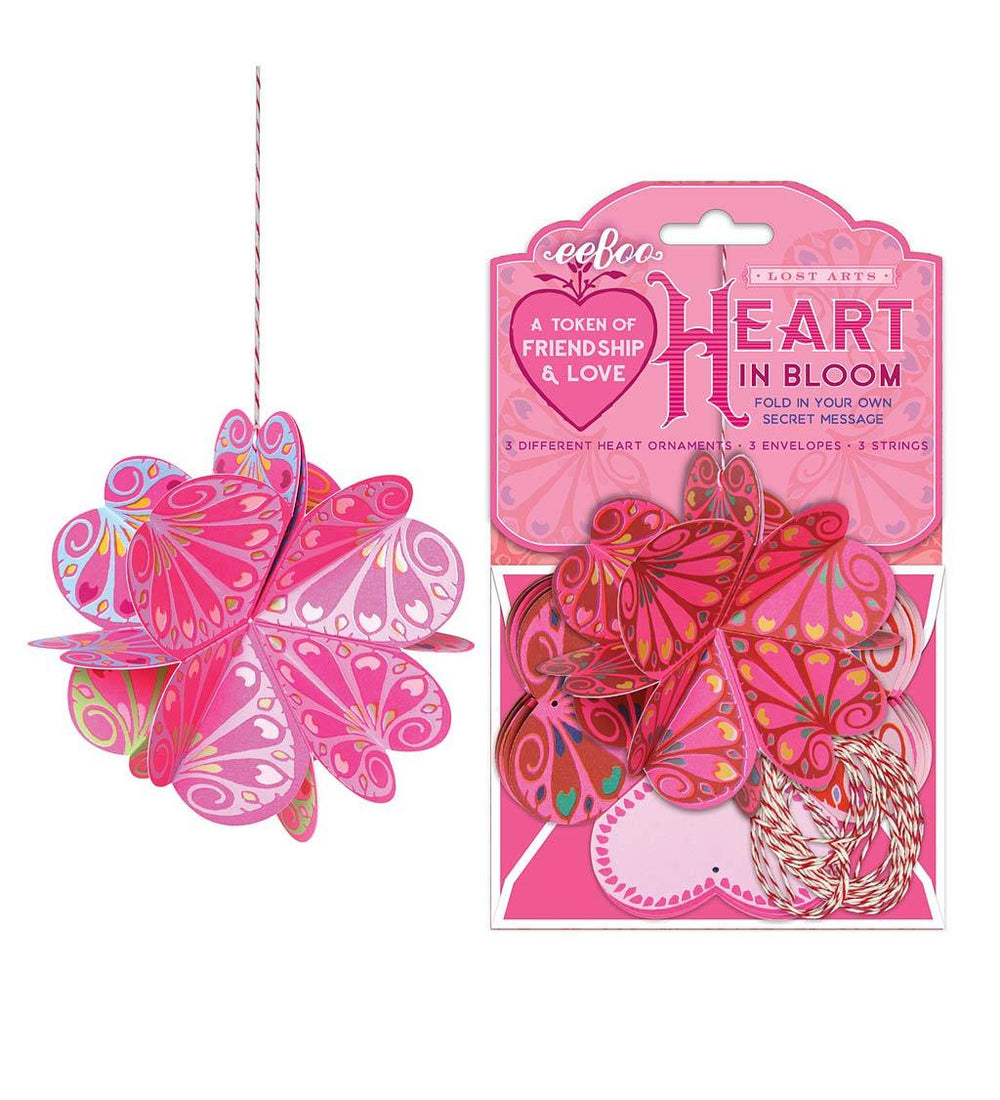 Heart in Bloom Love Tokens (set of 3)