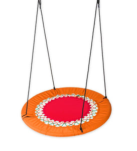 Mega FunShine Platform Swing - Large Round Tree Swing for Kids