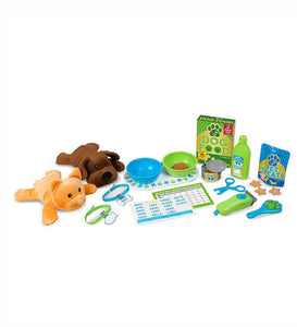 Feeding and Grooming Pet Care Play Set