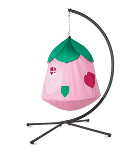 Cozy Posy HugglePod HangOut Special with Flower Hanging Tent, LED Flower Lights, and Stand