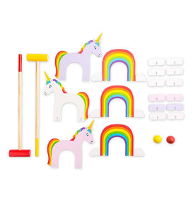 Unicorn Croquet Set