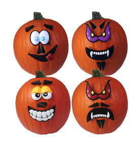 Crazy Pumpkin Faces