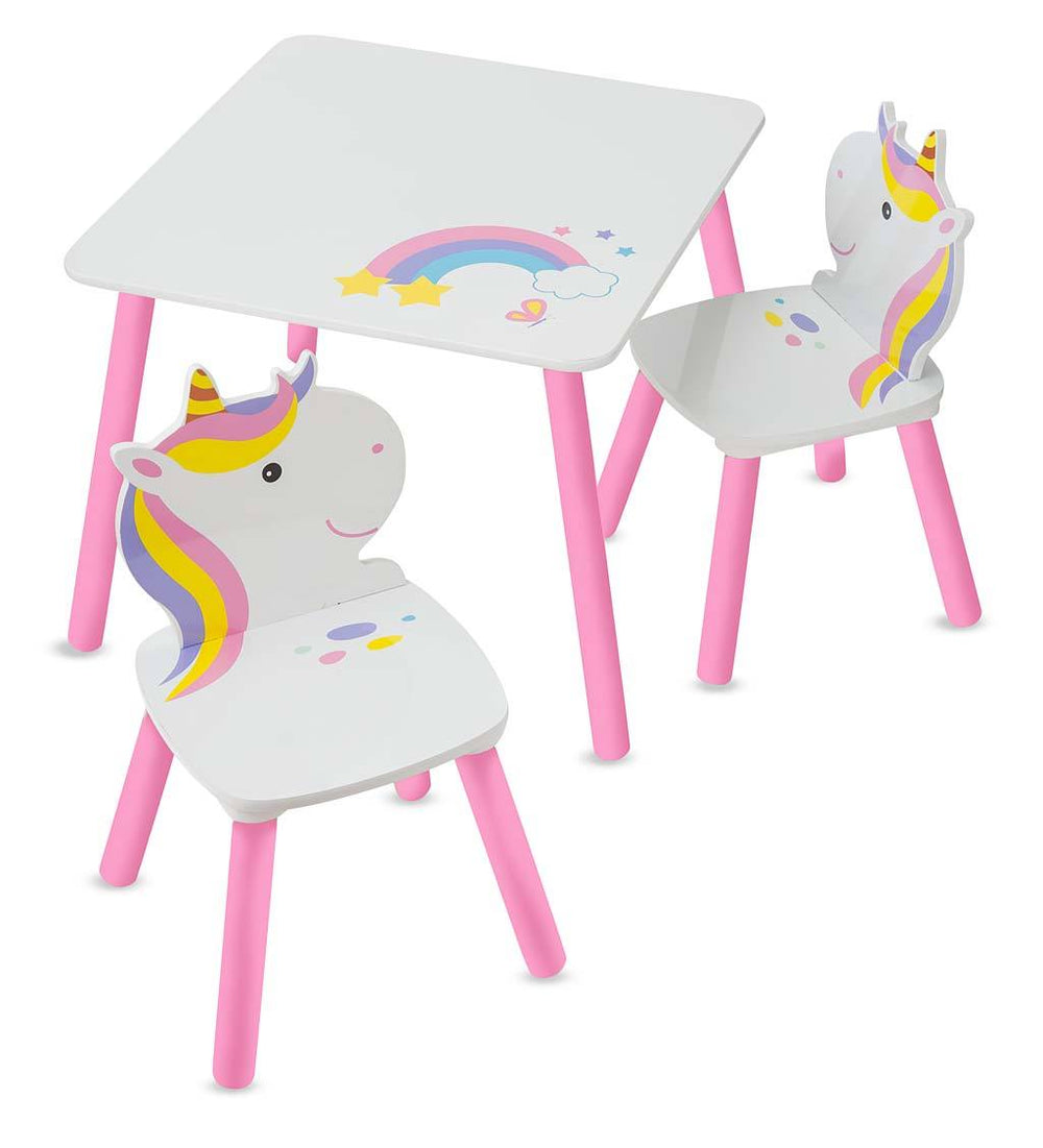 Unicorn Table and Chairs
