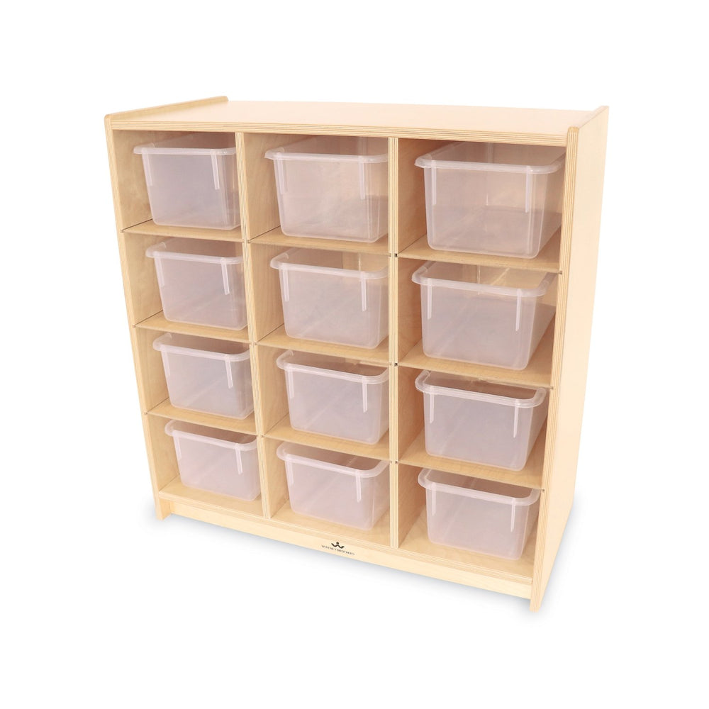 12 Cubby Storage Cabinet