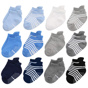 12-Pack Baby Socks (12-36 Months)