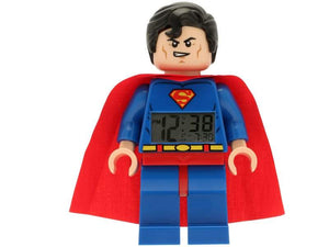 "LEGO® DC Comics"" Super Heroes Superman"" Minifigure Clock"