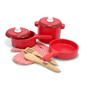 Play Kitchen Accessory Set - Pot & Pans