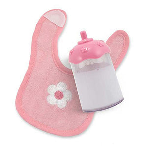 Mine to Love - Milk Bottle and Bib Set