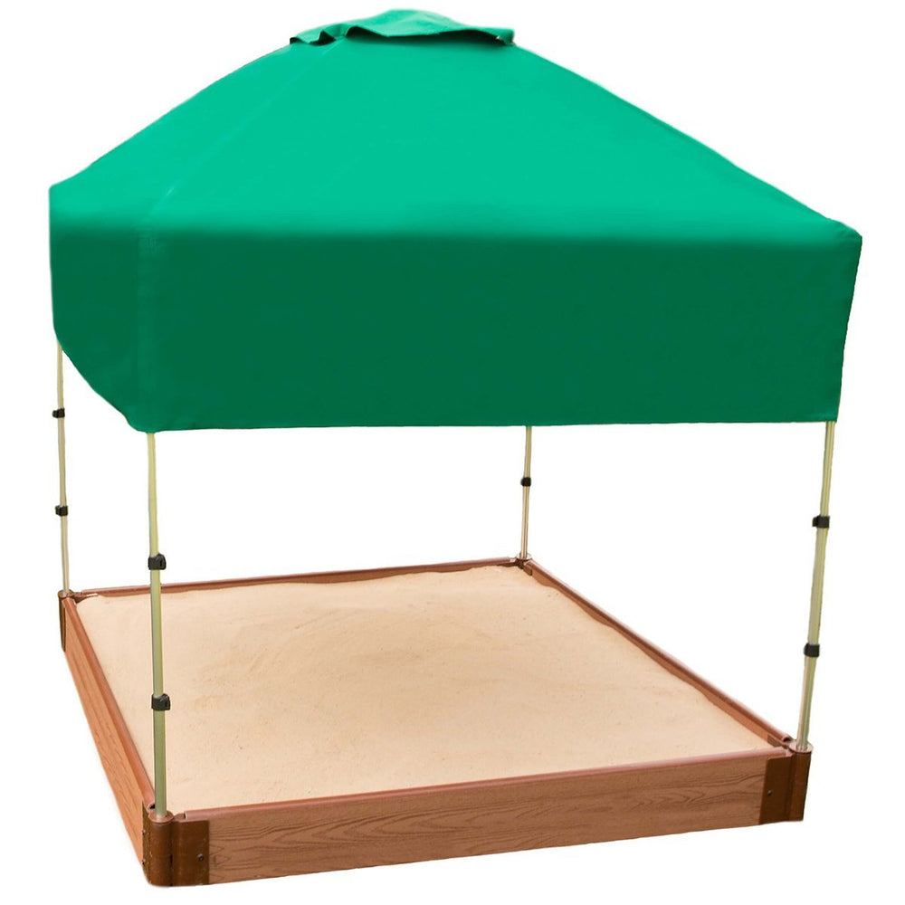 48in. X 48in.x 37in. Telescoping Square Sandbox Canopy/Cover