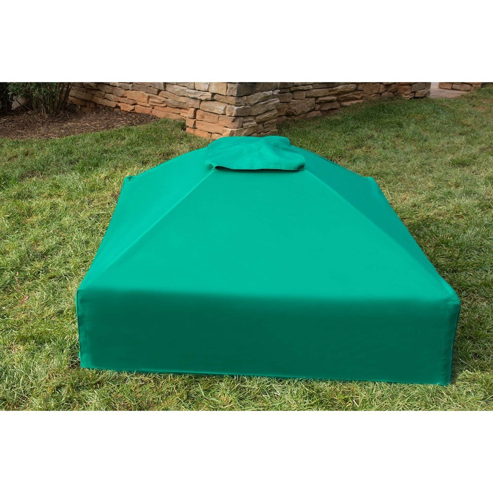 4ft. x 4ft. x 13.5in. Square Collapsible Sandbox Cover