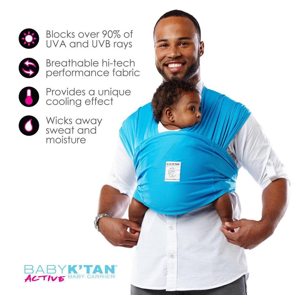 Active Baby Carrier Black