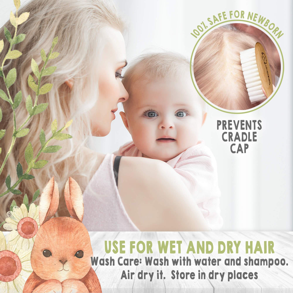 Baby Hair Brush for Newborn