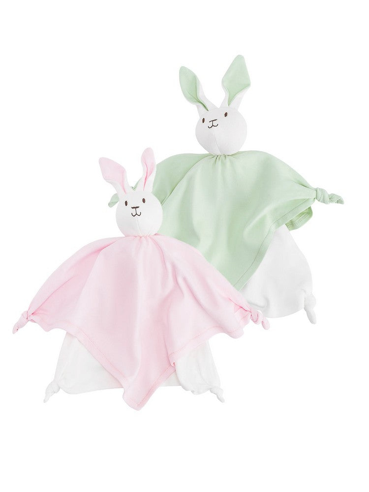 Back up Bunny Blanket Friend 2-pack