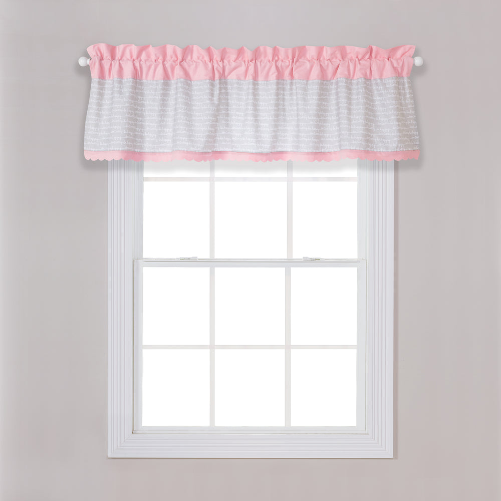 Be Happy Window Valance