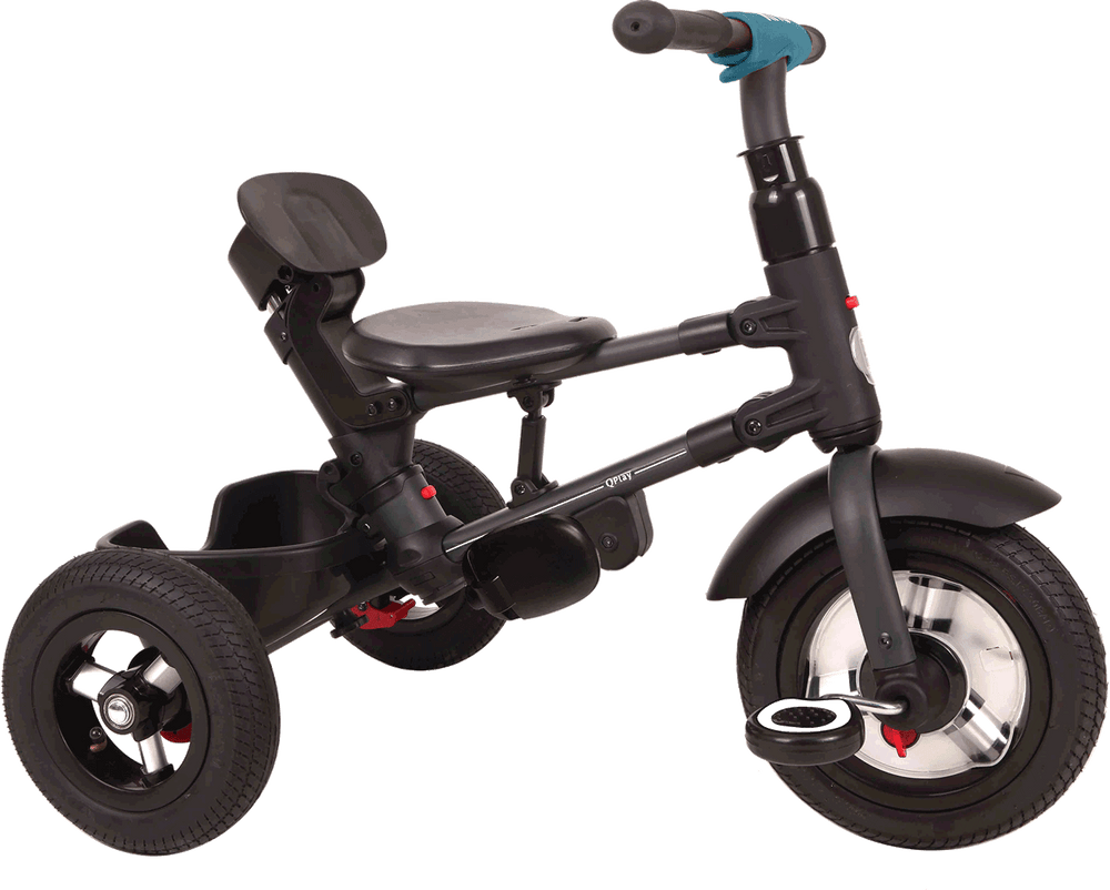 Rito Plus Folding Trike - Black