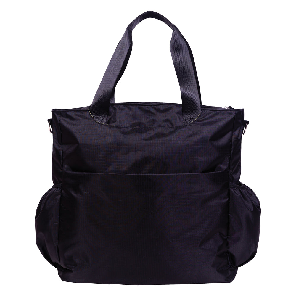 Black Tote Diaper Bag