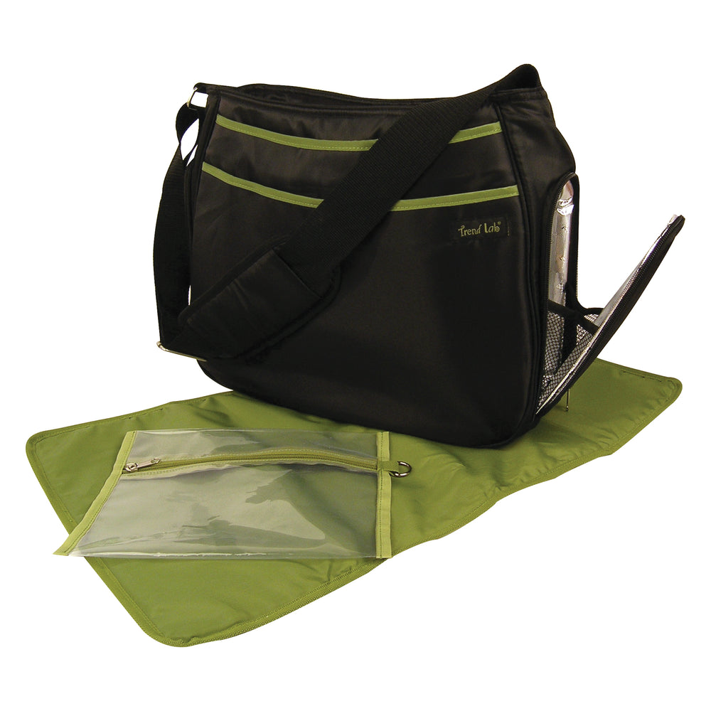 Black with Avocado Ultimate Diaper Bag