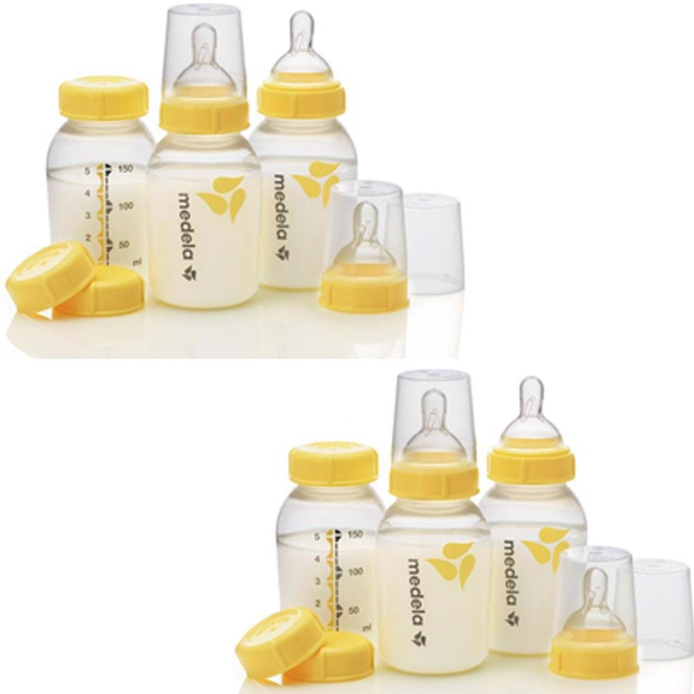Breastmilk Collection & Storage Bottle Set - 2 Pack