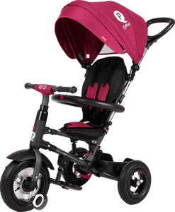Rito Plus Folding Trike - Burgundy