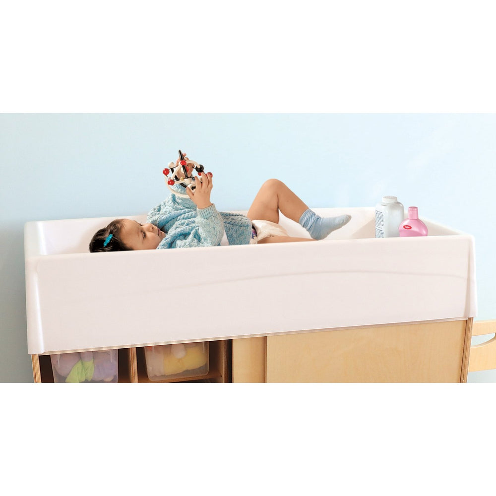 Changing Table Durable Molded Top