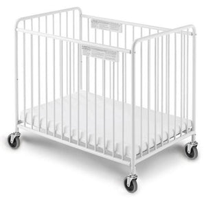 Chelsea Slatted Crib w/ Oversized Casters