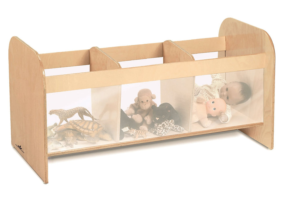Clear View Toy Storage Box
